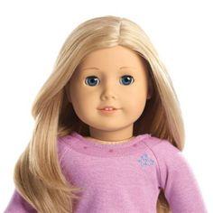 Truly Me™ Doll: Light Skin, Layered Blond Hair, Blue Eyes | tmdoll | American Girl