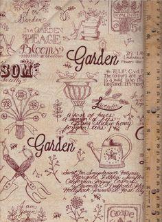 Kathy Schmitz 'Patchwork Garden' Moda 6060-18 by fromhollyandivy