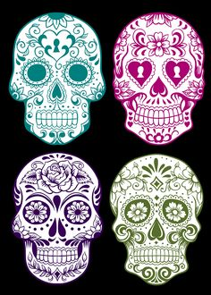 DAY OF THE DEAD FREE PRINTABLES | whitehousecrafts