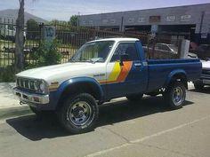 This is my Toy. Toyota Pickup 4x4, Toyota Trucks, Camper, Mini Trucks, Monster Trucks, Vehicles, Caravan, Toyota Cars, Travel Trailers