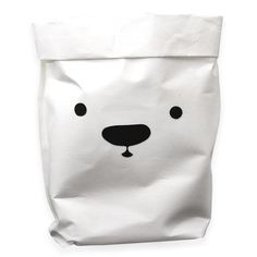 ice bear bag / L Stylish white bag for toys, laundry or whatever else with printed ice bear face. Very useful to store laundry or whatever ho. Tea Packaging, Packaging Design, Branding Design, Pretty Writing, Photoshop Logo, Design Palette, Logo Design Inspiration, Animal Design, Box Design
