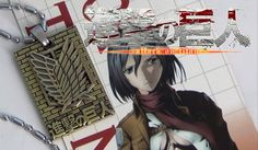 Attack on Titan Necklace Ver2