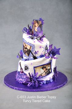 Love the cake, not the JUstin Bieber