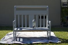 How To Build A Bench From A Toddler Bed Hello Reading