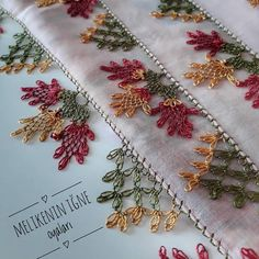 needle lace – Hair World Embroidery Needles, Hand Embroidery, Embroidery Designs, Filet Crochet, Crochet Stitches, Crochet Patterns, Yarn Crafts, Diy And Crafts, Point Lace