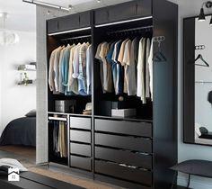 Aranżacje wnętrz - Garderoba: Garderoba styl Nowoczesny - IKEA. Przeglądaj, dodawaj i zapisuj najlepsze zdjęcia, pomysły i inspiracje designerskie. W bazie mamy już prawie milion fotografii!