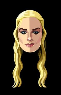 Robert Ball - Game of Thrones Portraits - Cersei