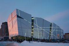 Vershina Trade and Entertainment Centre in Surgut, Russia. Photo: Alexey Naroditskiy