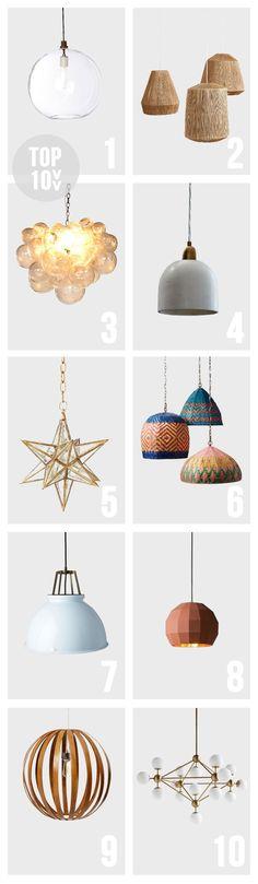 Top 10: Alternative Island Light Fixtures