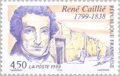 Sello: Rene Caillié (1799-1838) (Francia) (Famous adventurers) Yt:FR 3257,Mi:FR 3399