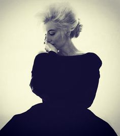 A beautiful shot by Bert Stern of Marilyn Monroe for Vogue weeks before her death in 1962