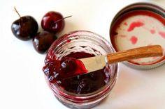 Easy Bing Cherry Jam -- best version EVER! Recipe here: http://www.shockinglydelicious.com/blue-ribbon-bing-cherry-jam/