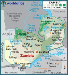 Map of Uganda. Our three children, Romeo, Glamour & Rosie live near Kampala. The airport is in Entebbe and I think it is about 30 minutes from Kampala. Chobe National Park, International Travel Tips, Country Maps, Africa Travel, Africa Map, Victoria Falls, Thinking Day, African Countries, African Safari