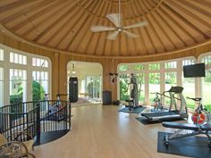 Love this home gym.