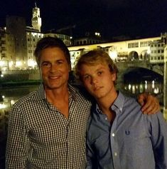 Rob and Matthew - Rob Lowe on sending his son off to college