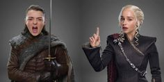 """A new HBO commercial shows Daenerys, Tyrion, Arya, and 11 other """"Game of Thrones"""" characters all in new costumes for season seven."""