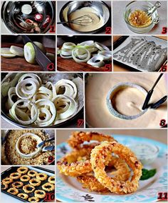 Oven-Fried Onion Rings  recipe here ==> http://lovecookeat.com/oven-fried-onion-rings-2/
