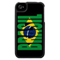 Brasil Flag iPhone 4 Case