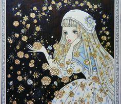 お姫様と妖精のぬり絵ブック/tomoko tashiro/宝石姫