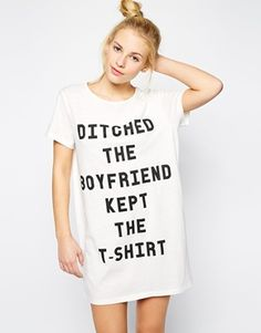 "Minkpink ""Ditched The Boyfriend"" Tee Dress"
