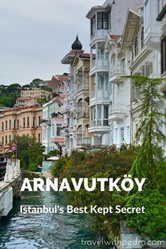 Arnavutkoy is a quiet neighbourhood on Istanbul's European side. This area still keeps its village-like feel and the seaside wooden mansions are the biggest attraction. Turkey Vacation, Turkey Travel, The Places Youll Go, Places To Go, Places To Travel, Travel Destinations, Istanbul Travel, Istanbul Airport, Visit Istanbul