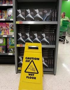 "Caution: ""Fifty Shades Of Grey"" LOL"