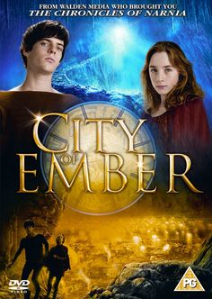 City of Ember.  Turning a book into a movie; using light to represent darkness; city streets set.