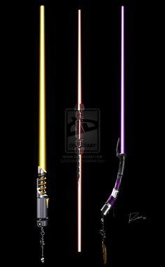 Custom Lightsaber Collection by on DeviantArt