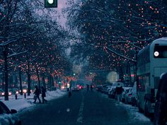 Christmas lights in berlin by ashkey, via Flickr