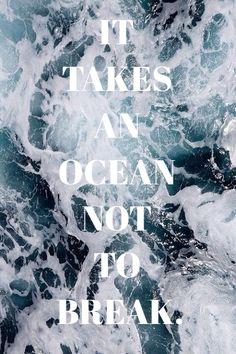 The National 'Terrible Love' Lyrics: It takes an ocean not to break. #lyrics #thenational