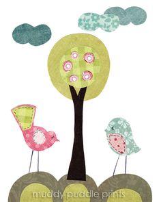 nursery Art, Nursery decor, Babys room print, art print, Kids art print