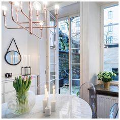 Good morning from a rainy Stockholm☔️ #rainy #sunday #stockholm #home #byrydens #marbletable #svenskttenn #skultuna #interior #inredning #instahome #interior123 #interior4all #interiorforyou #kungsholmen #homesweethome