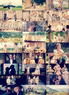 Sound of Music- This is my all time favorite musical. I watched it over and over as a child, and adult. It's just amazing and beautiful. ( I couldn't pick just one picture so I used someone else's collage.)