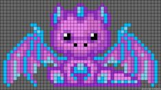 pixel art dragon - Google Search