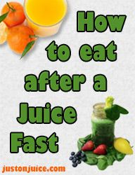 So you went on a juice fast, and now you need to think of How to Eat After a Fast! #Justonjuice  #Juicing  ( www.justonjuice.com/how-to-eat-after-a-fast/ )
