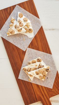 Milk and Cookies Bark Recipe - We turned classic milk and cookies into an adorable all-in-one treat! Our milk and cookies bark takes just two ingredients and five minutes. No oven required. (Two Ingredients Ovens) Baby Boy 1st Birthday, Boy Birthday Parties, Birthday Gifts, Milk Y Goku, Bark Recipe, Milk Cookies, Fun Easy Recipes, Chocolate Bark, Birthday Cookies