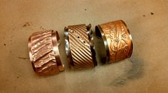 Eva Sherman class: Cool Copper Cuffs