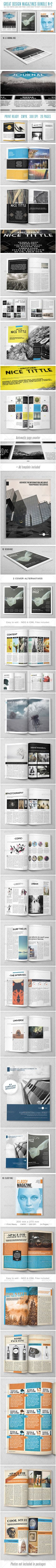 Tons of inspirational magazine spread work. it looks ascetically pleasing because it follows and breaks tons of rules!  I could use any of these ideas to incorporate them into my spread!