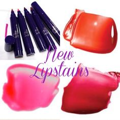 Our gorgeous new lipstains were released today.   Just £12.50 each - who wants one? xxx