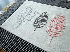 random embroidery piece, via Flickr.