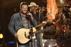 "Great way to kick off the show with Blake Shelton's ""Boys 'Round Here."""