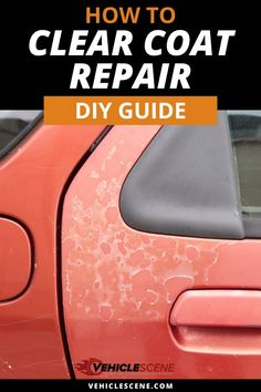 Clear coat repair is within most peoples capabilities. In this guide, we take a deep dive look at the steps involved, with expert tips, things to avoid, and more. Car Paint Repair, Car Repair, Auto Paint, Car Cleaning Hacks, Car Hacks, Auto Body Work, Car Care Tips, Auto Body Repair, Car Upholstery