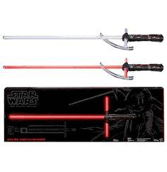 Star Wars The Force Awakens Kylo Ren Force FX Deluxe Lightsaber Replica. Finish off your Kylo Ren Halloween costume!