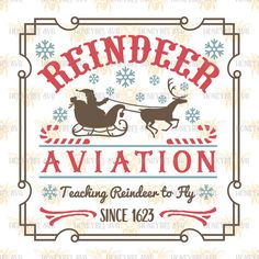 HoneybeeSVG Reindeer Aviation cut file. This is a SVG, DXF, EPS, and JPEG digital download cutting file, which can be imported to a number of paper crafting programs. With this purchase, you will receive a zipped folder containing this image in SVG, DXF, EPS, and JPEG form, suitable for use in Cricut Design Space, Sure Cuts A Lot, Make The Cut, and the Silhouette Basic and/or Designer Edition. PLEASE CHECK WITH YOUR MACHINE'S ABILITY TO USE THESE FORMATS. For Silhouette Cameo, you must have…