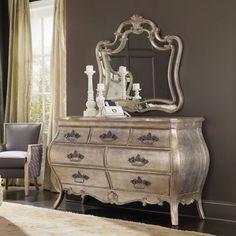 Hooker Furniture Sancturary 7-Drawer Dresser with Optional Mirror - HOOK4061-1