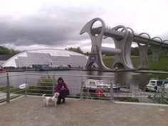 Falkirk Wheel Falkirk Wheel, Campervan, Vw, Fighter Jets, Aircraft, Camping, Places, Pictures, Campsite