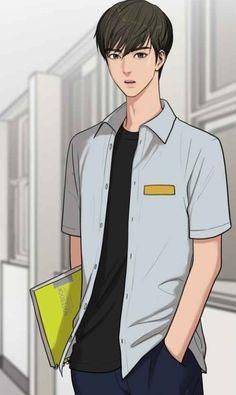 The secret of angel. Suho, Cover Wattpad, Webtoon App, Boy Illustration, Webtoon Comics, Handsome Anime, Boy Art, True Beauty, Aesthetic Anime