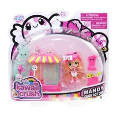 Mandy Candy Dot Dot has the biggest sweet tooth ever! Everyone goes to Mandy's Candy Shop for the best sweets in the city. Rilakkuma, Toys For Girls, Kids Toys, Kawaii Crush, Mandy Candy, Girls Nail Designs, Minnie Mouse Toys, Dots Candy, Party Pops
