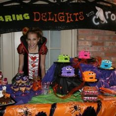 halloween birthday party ideas within black halloween theme picture