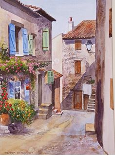 Terry Harrison - Painting holiday in France